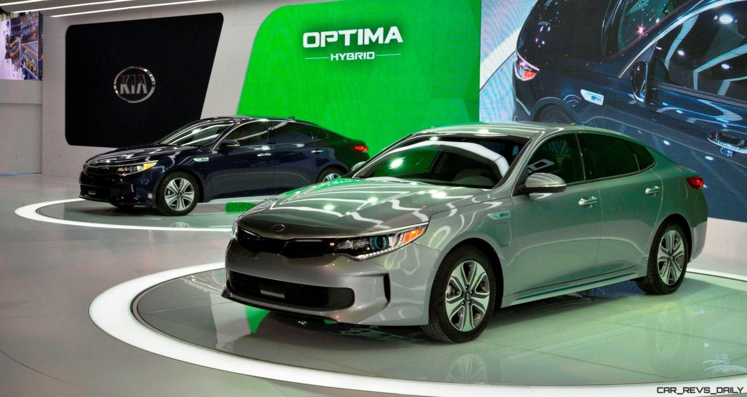 2016 KIA Optima Hybrid 4