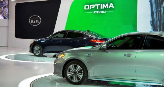 2016 KIA Optima Hybrid 5