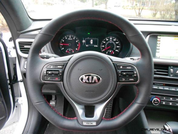 2016 Kia Optima SX Turbo Review 12