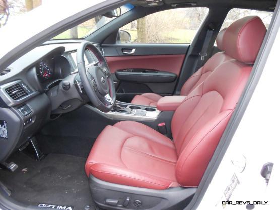 2016 Kia Optima SX Turbo Review 2