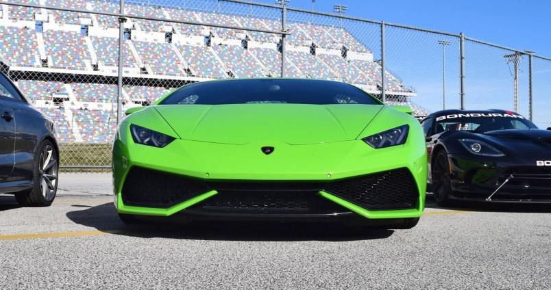 2016 Lamborghini HURACAN Verde Mantis 10