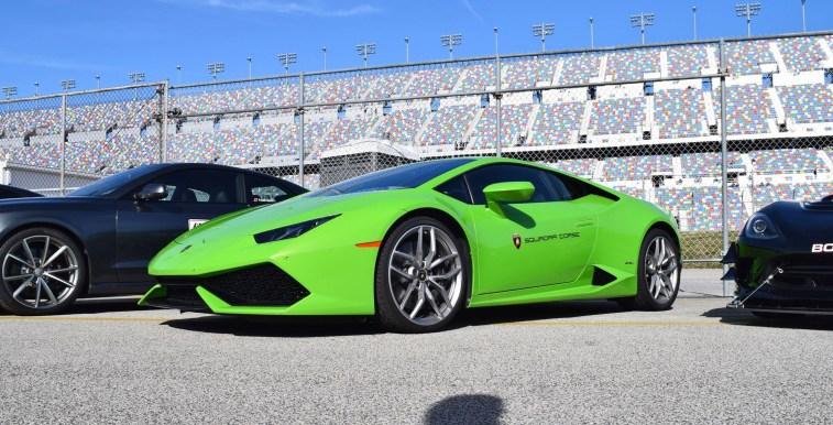 2016 Lamborghini HURACAN Verde Mantis 18