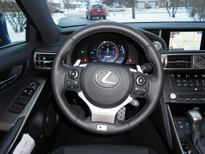 2016 Lexus IS200t F Sport Review Glassman 12