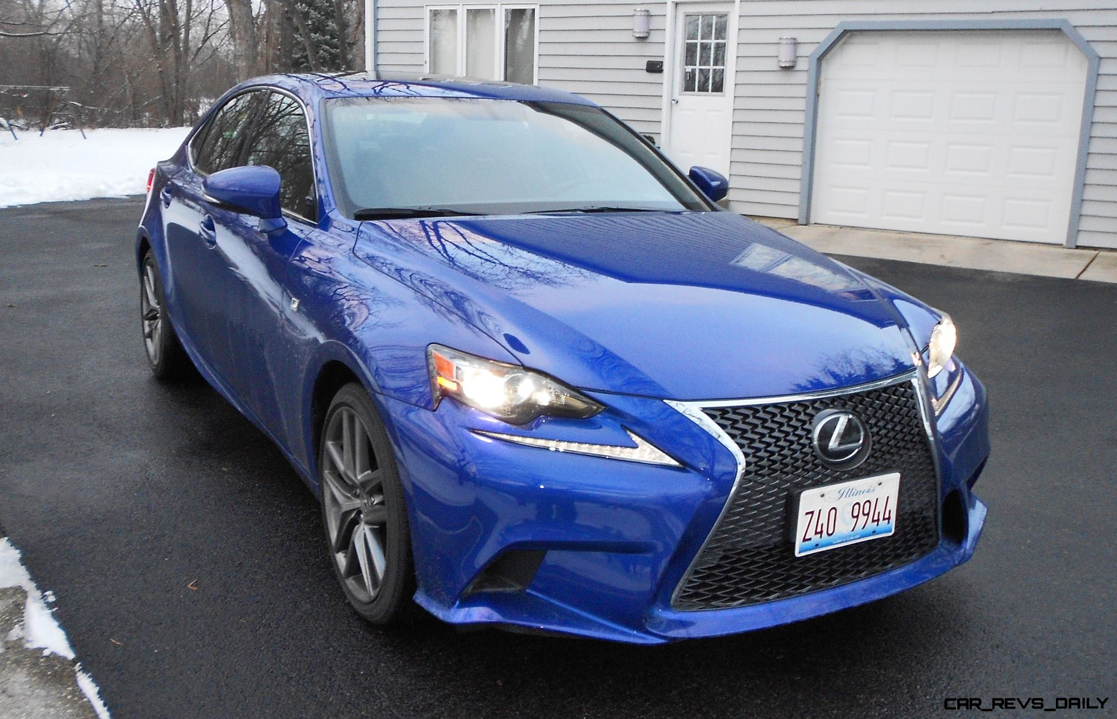 Road Test Review 2016 Lexus IS200t F Sport