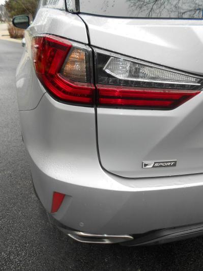 2016 Lexus RX350 AWD F Sport Review 17