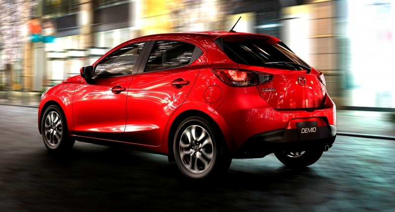 2016 Mazda2 First Photos! Upmarket New Grille and Cabin Highlight Changes 1