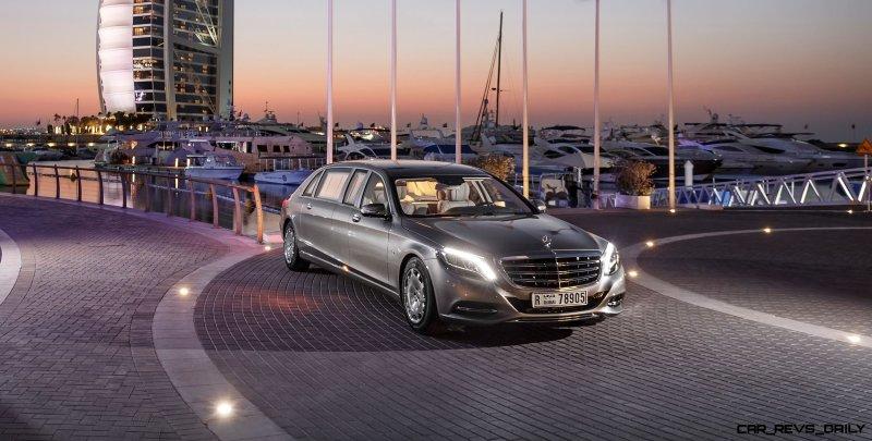 2016 Mercedes-Maybach PULLMAN Limo 2