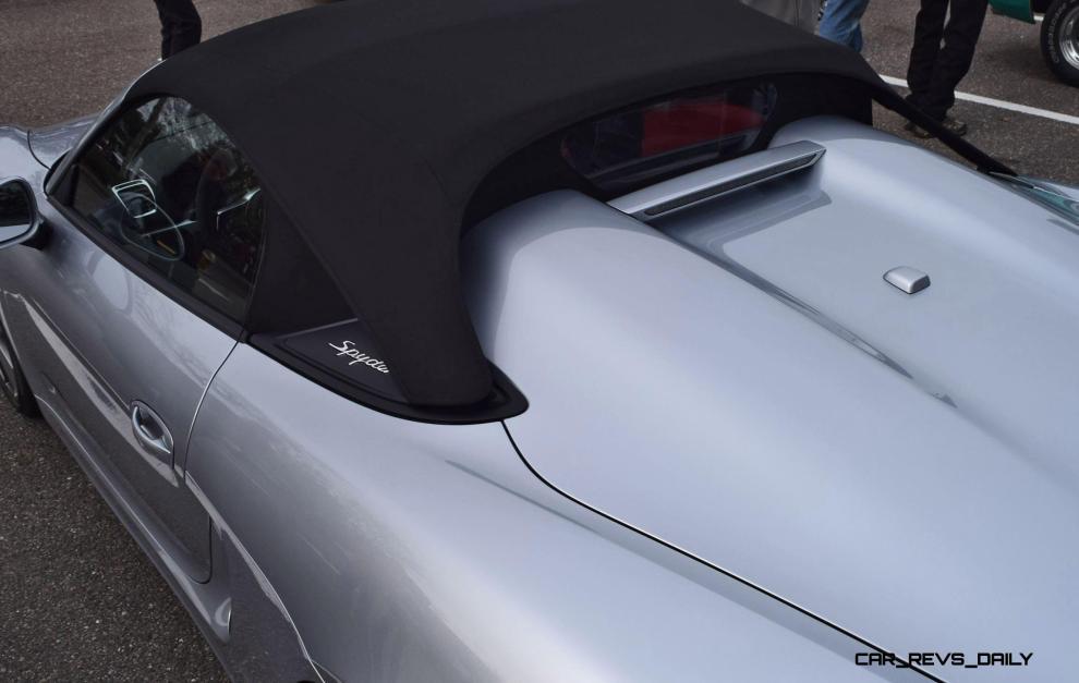 2016 Porsche BOXSTER SPYDER 22