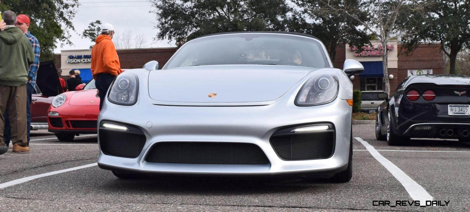 2016 Porsche Boxster SPYDER Silver 26