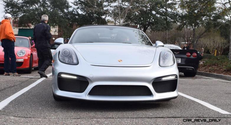 2016 Porsche Boxster SPYDER Silver 33
