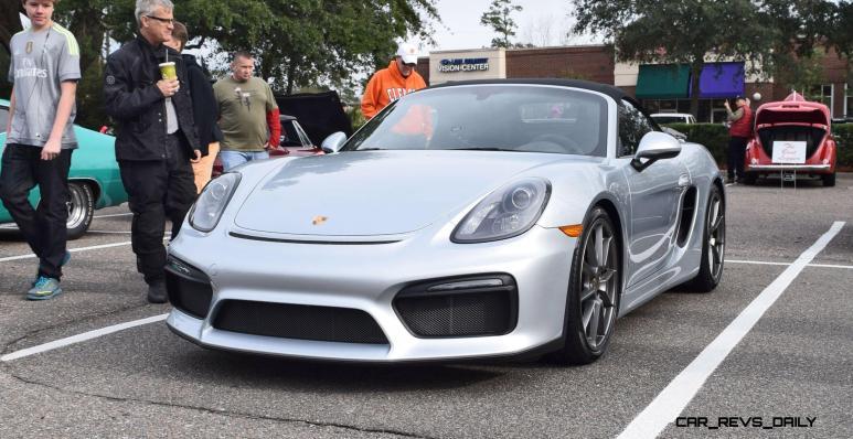 2016 Porsche Boxster SPYDER Silver 48