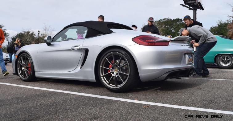 2016 Porsche Boxster SPYDER Silver 63