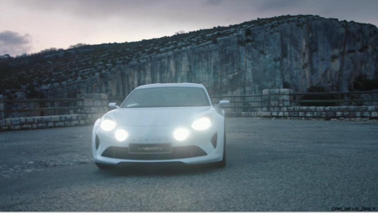 2016 Renault ALPINE Vision Concept - Video Stills 14