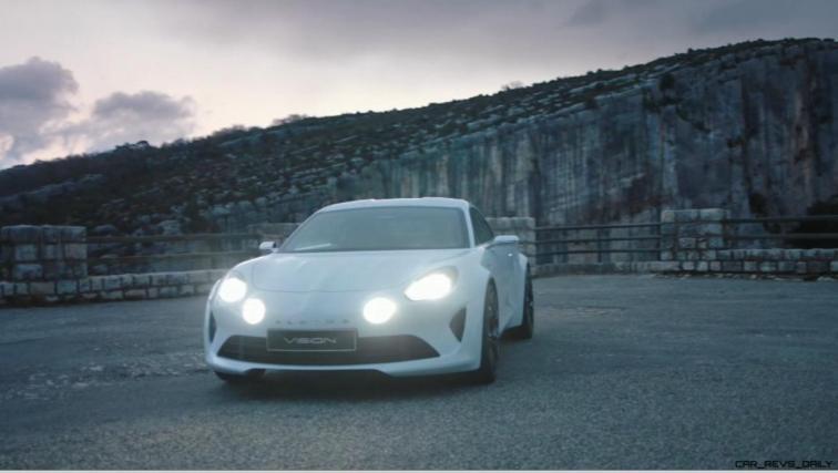 2016 Renault ALPINE Vision Concept - Video Stills 17
