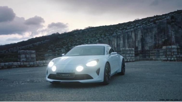 2016 Renault ALPINE Vision Concept - Video Stills 18