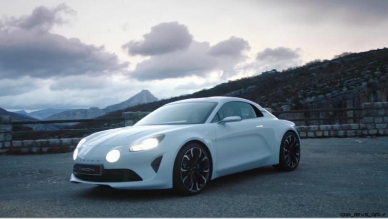 2016 Renault ALPINE Vision Concept - Video Stills 23