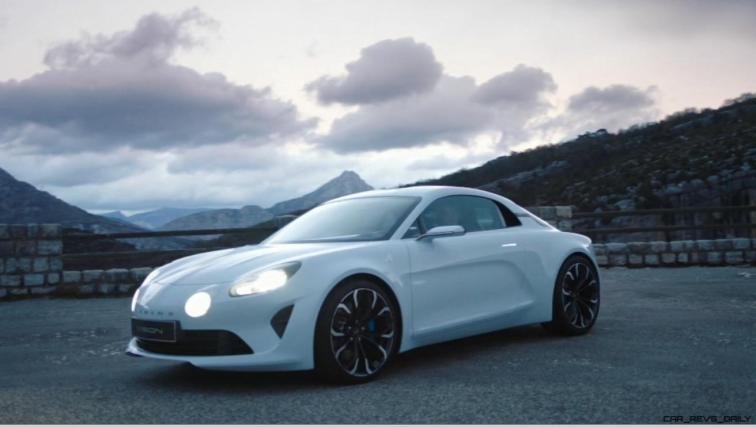 2016 Renault ALPINE Vision Concept - Video Stills 24