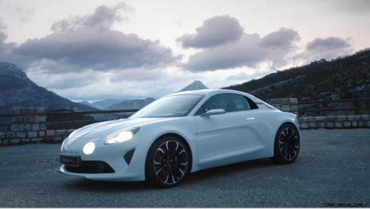 2016 Renault ALPINE Vision Concept - Video Stills 25