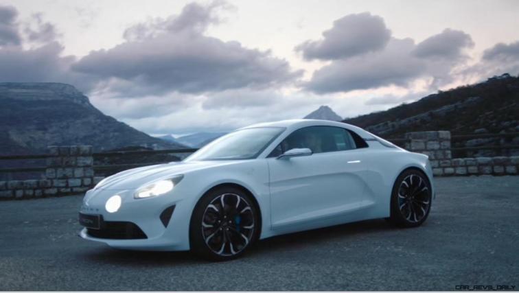 2016 Renault ALPINE Vision Concept - Video Stills 26