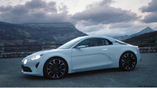 2016 Renault ALPINE Vision Concept - Video Stills 30