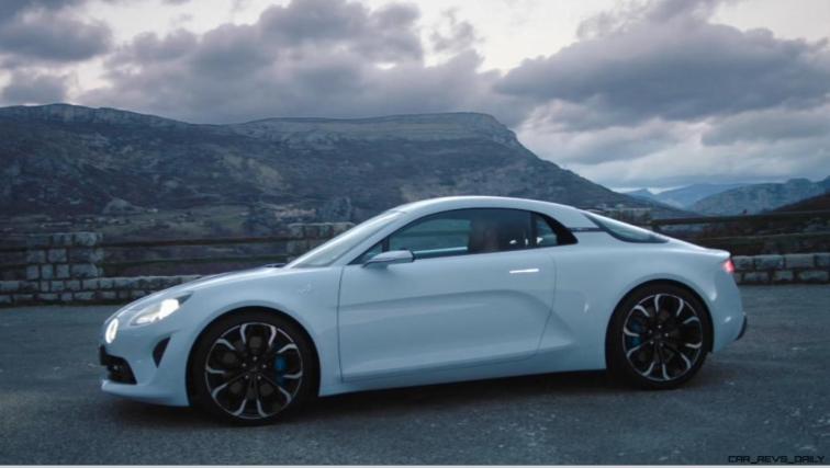 2016 Renault ALPINE Vision Concept - Video Stills 32