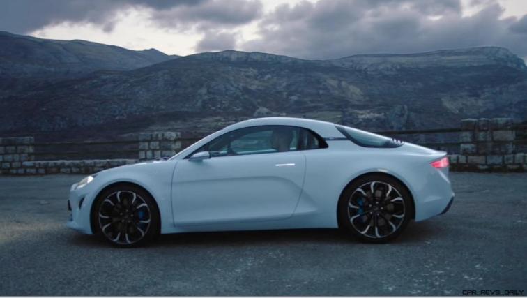 2016 Renault ALPINE Vision Concept - Video Stills 37