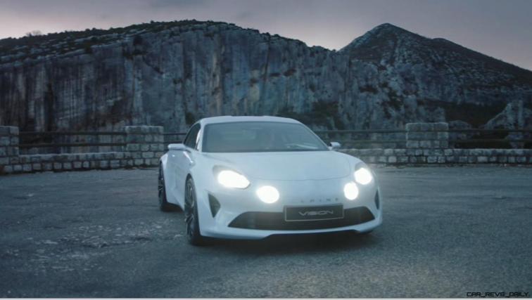 2016 Renault ALPINE Vision Concept - Video Stills 4