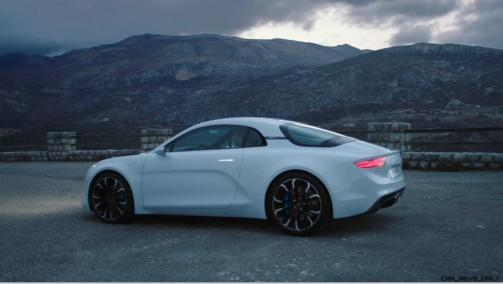 2016 Renault ALPINE Vision Concept - Video Stills 42