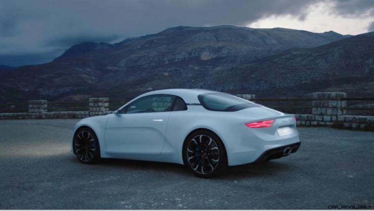 2016 Renault ALPINE Vision Concept - Video Stills 45