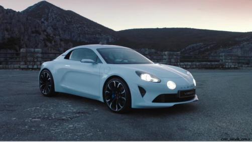 2016 Renault ALPINE Vision Concept - Video Stills 49