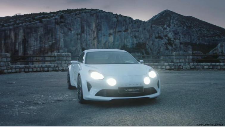 2016 Renault ALPINE Vision Concept - Video Stills 5