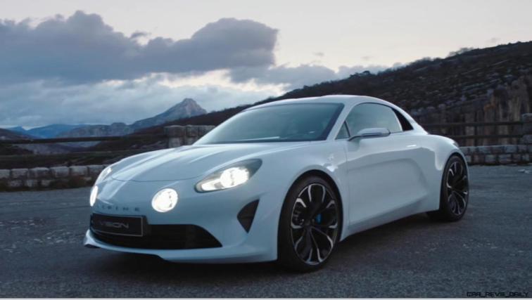 2016 Renault ALPINE Vision Concept - Video Stills 63