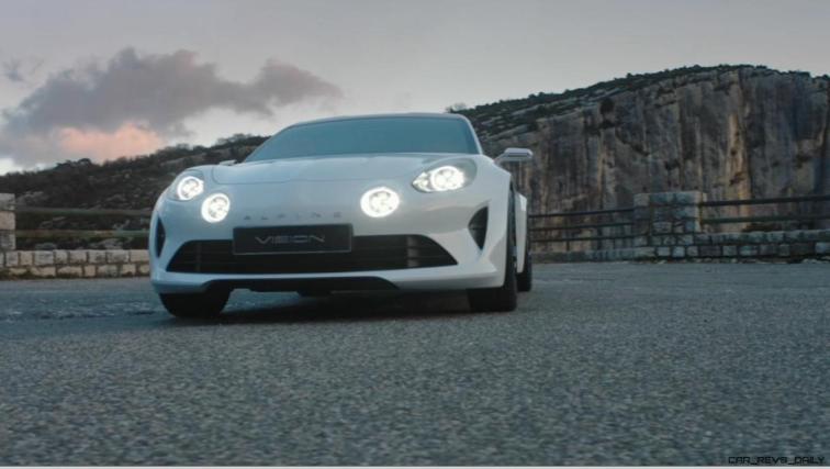 2016 Renault ALPINE Vision Concept - Video Stills 72