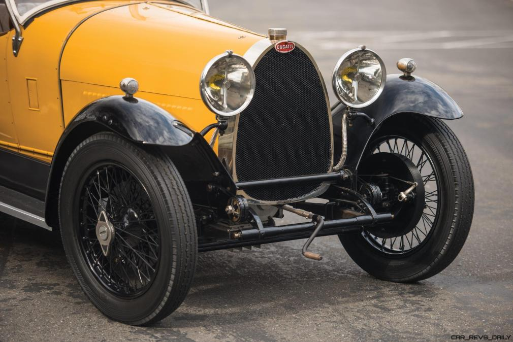 1925 Bugatti Type 30 Tourer 25