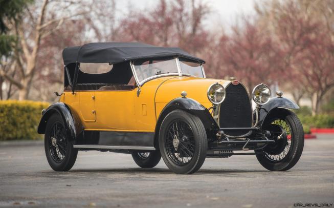 1925 Bugatti Type 30 Tourer 39