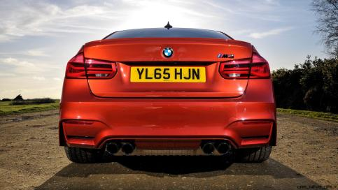 2017 BMW M3 Competition Pack 16