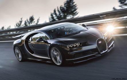 2017 Bugatti CHIRON Black Dynamic 3