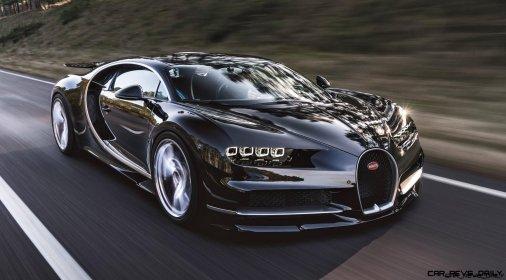 2017 Bugatti CHIRON Black Dynamic 4