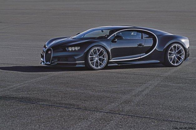 2017 Bugatti CHIRON Black Dynamic 8