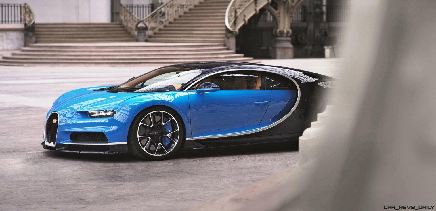 2017 Bugatti CHIRON Grand Palais 2
