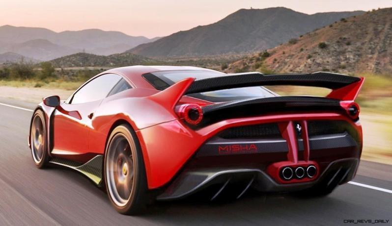 Ferrari 458 Widebody by MISHA Designs 13