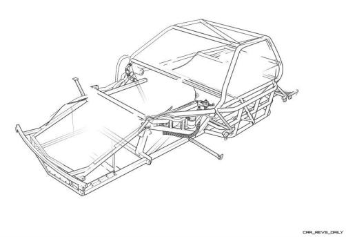 1985 ROUSH Protofab Ford Mustang GTO - Animated Technical Illustrations 2