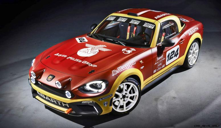 2016 Abarth 124 Rally Prototype 1