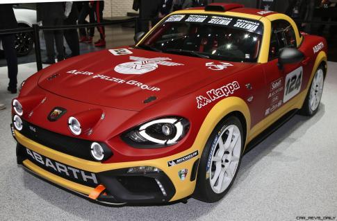 2016 Abarth 124 Rally Prototype 9