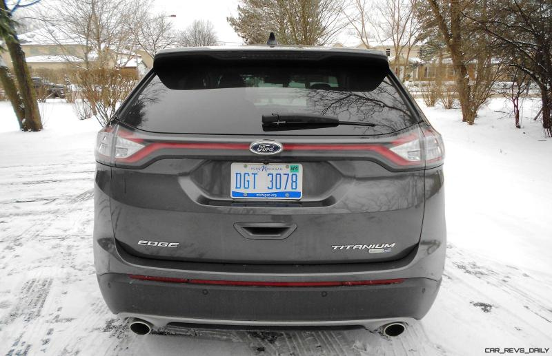 2016 Ford EDGE AWD Titanium 12