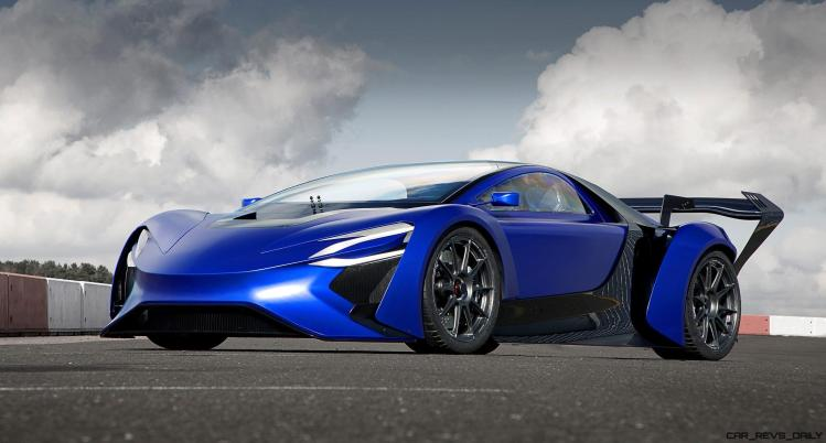 2016 TechRules AT96 TREV Supercar Concept 7