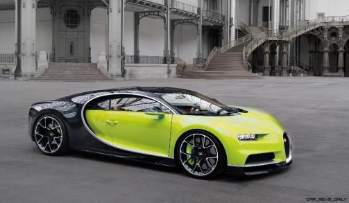 2017 Bugatti CHIRON - Color Visualizer - Draft Renderings 100