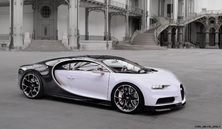 2017 Bugatti CHIRON - Color Visualizer - Draft Renderings 113
