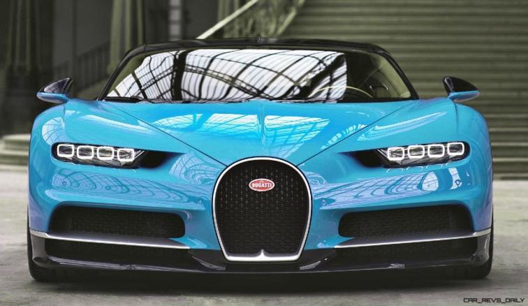 2017 Bugatti CHIRON - Color Visualizer - Draft Renderings 14