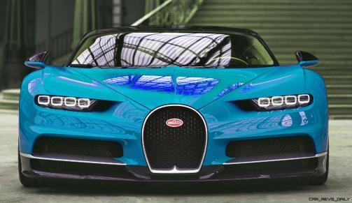 2017 Bugatti CHIRON - Color Visualizer - Draft Renderings 21